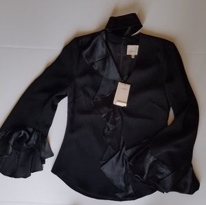 cinq a sept Tops - JUST IN! NWT Cinq a Sept ruffled blouse